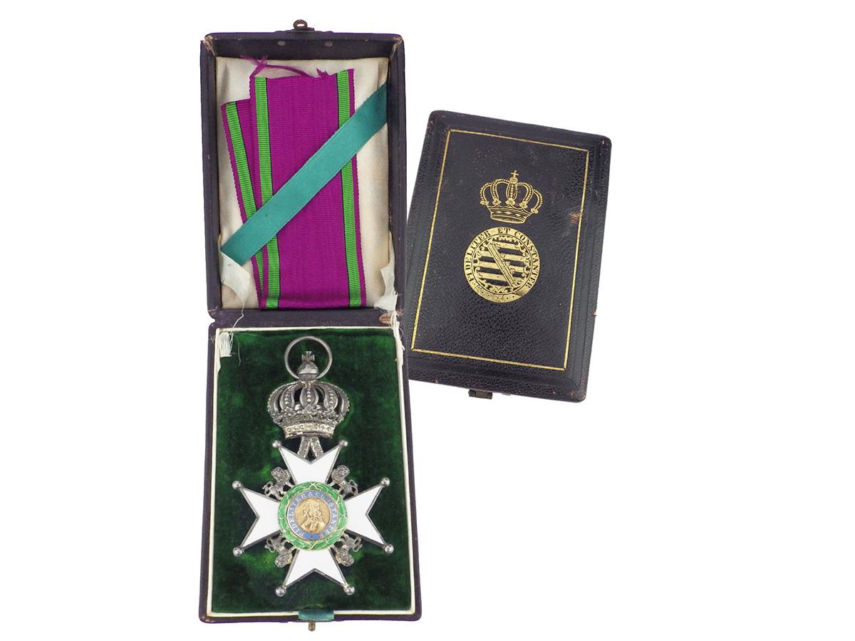 Silber Orden mit Loewen